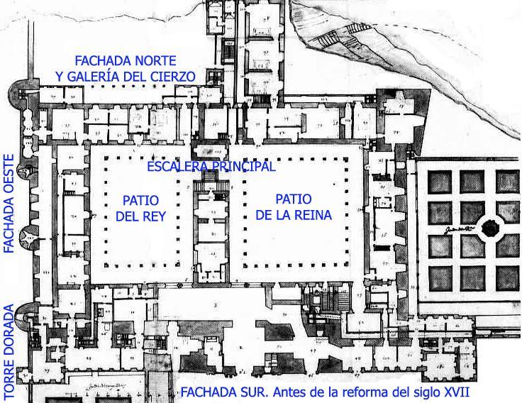 Plano del alc zar madrid pinterest planos madrid y for Plantas de interior madrid