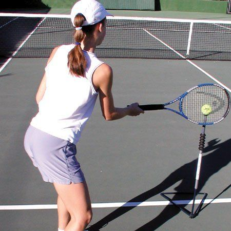 Sportee Tennis Swing Training Stand By Oncourt Offcourt 29 00 Our Sportee Swing Stand Is Another Long Needed Tool To Help Tennis Tennis Racquets Racquetball