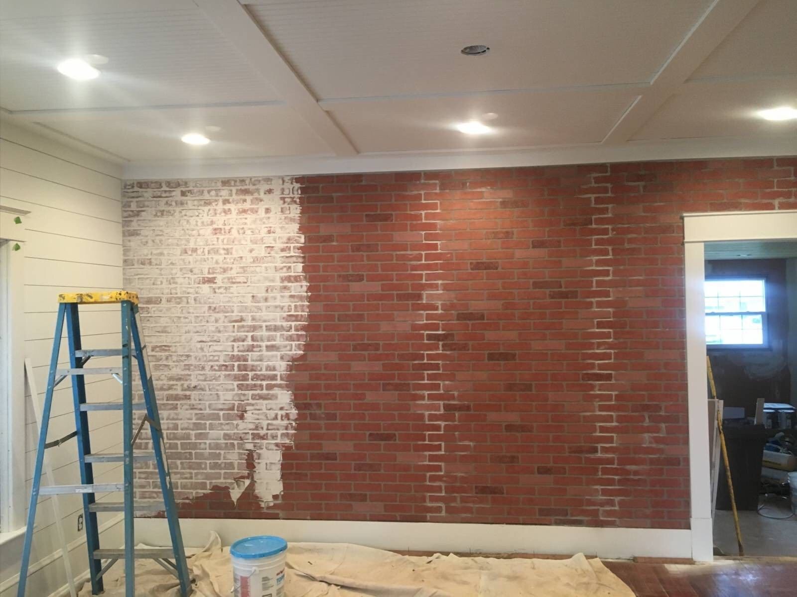 how to build a faux brick wall faux brick walls brick on brick wall id=25973
