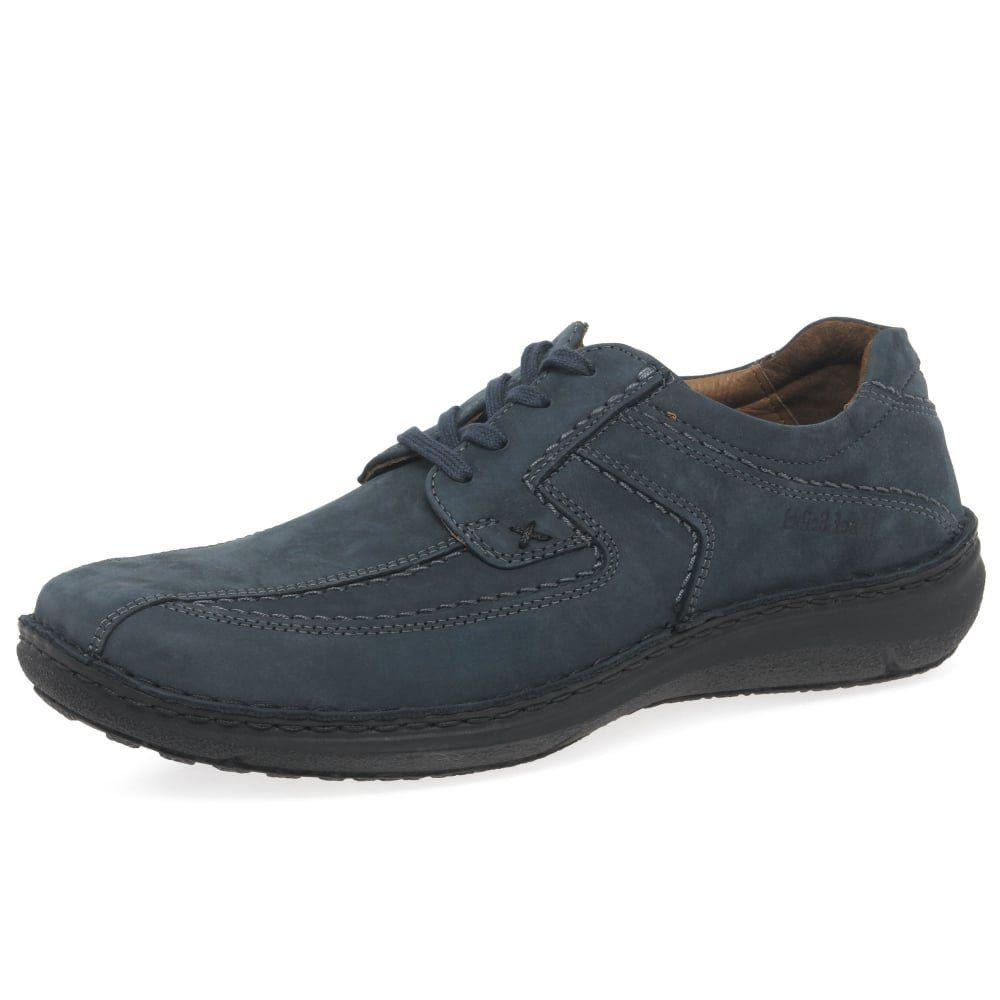 Josef Seibel Men's Anvers 08 Extra Wide Casual Shoes 46 EU/13 D(M) US Mystery Nubuck