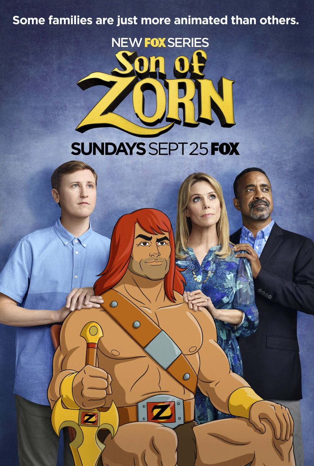 Son of Zorn Tv series 2016, Top tv shows, Tv series