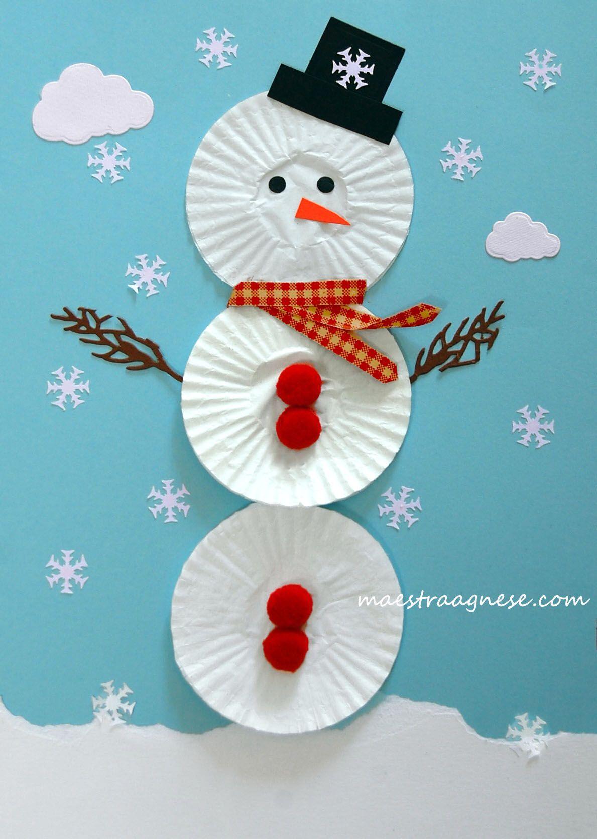 Lavoretti Per L Inverno Lavoretti Di Natale Scuola Materna