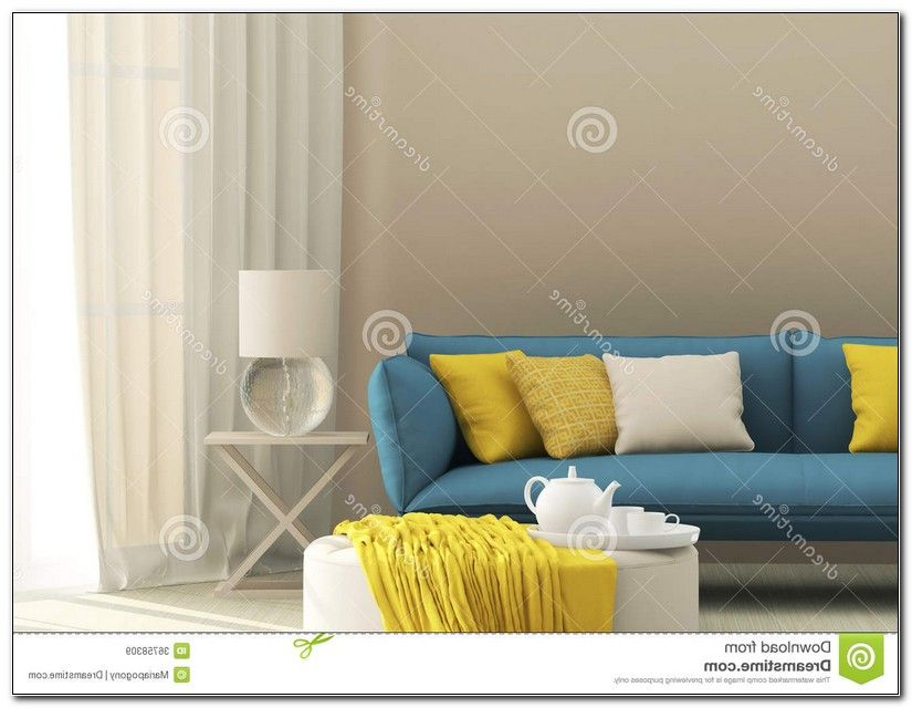 Light Blue Sofa Cushions
