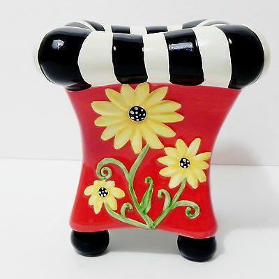 ALICIA TORMEYBottman Garden Planter Decorative Vase Funky Flower Pot Collectible