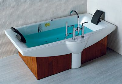 oversized private bathtubs | Extra Large Soaking Tubs | Tubs LineaAqua Prince 75 x 40 ...