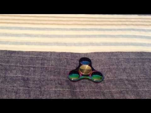Rainbow Fid Spinner Unboxing & Review