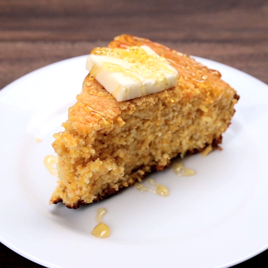 Skillet Cornbread Recipe by Tasty