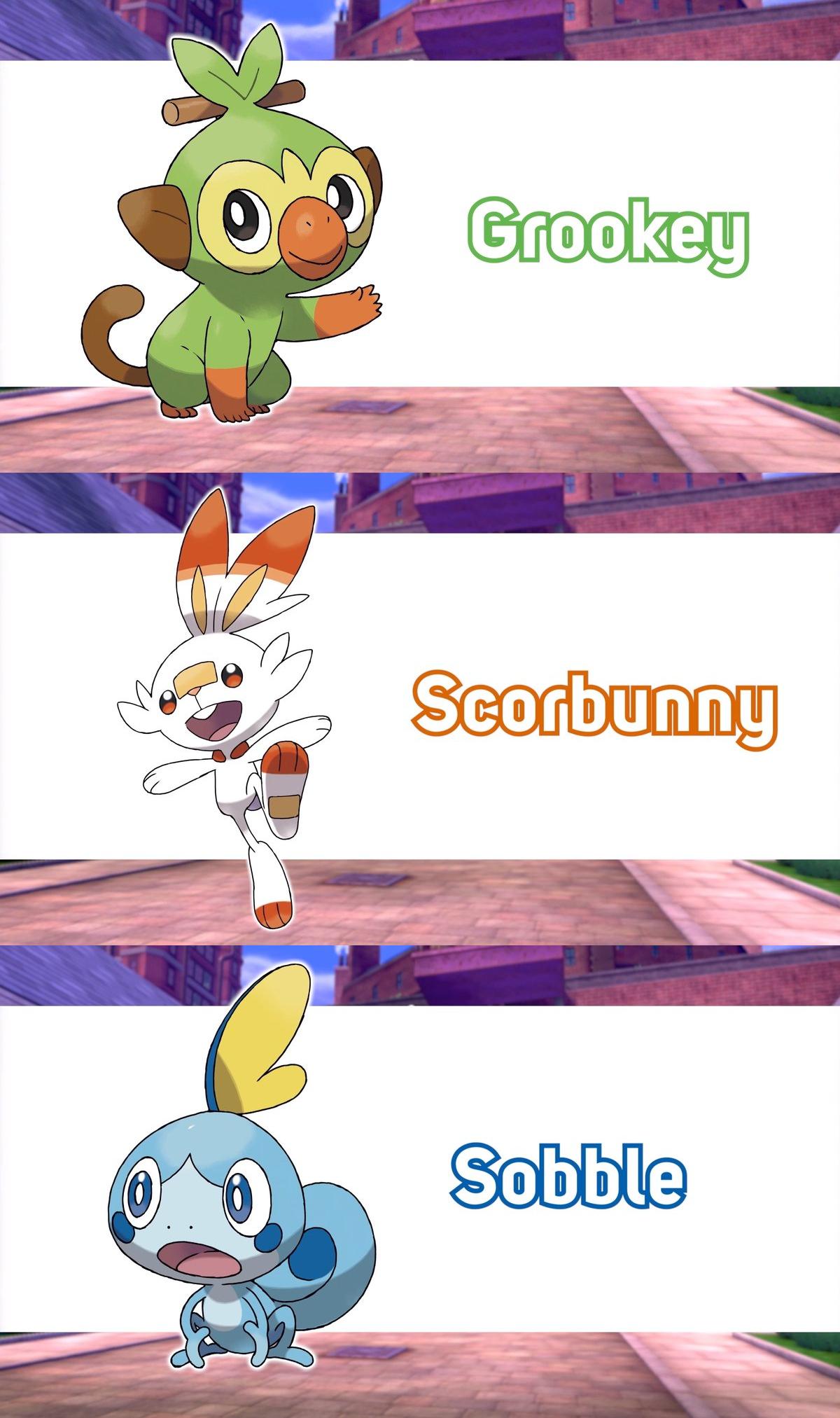 Names Of The 3 Starters Pokemon Pokemon Pokemon Super Cool Pokemon