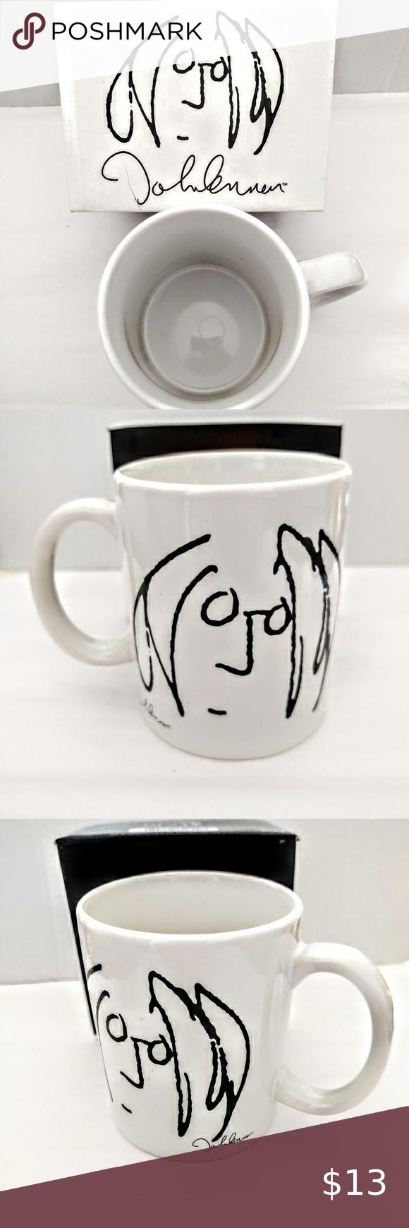 Beatles John Lennon Signed Mug Nib John Lennon Beatles Beatles John John Lennon