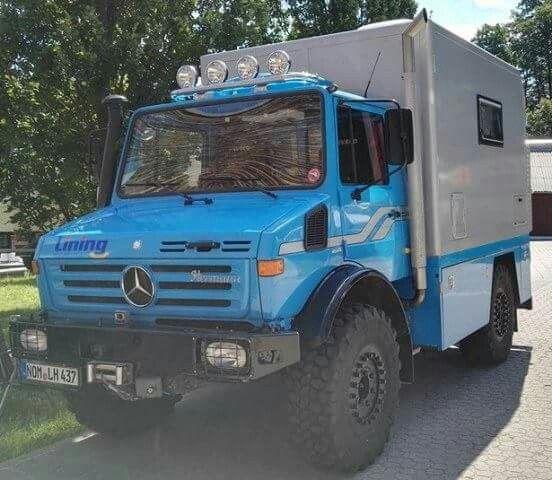 Unimog Camper Vehiculo Todo Terreno Camionetas Vehiculos