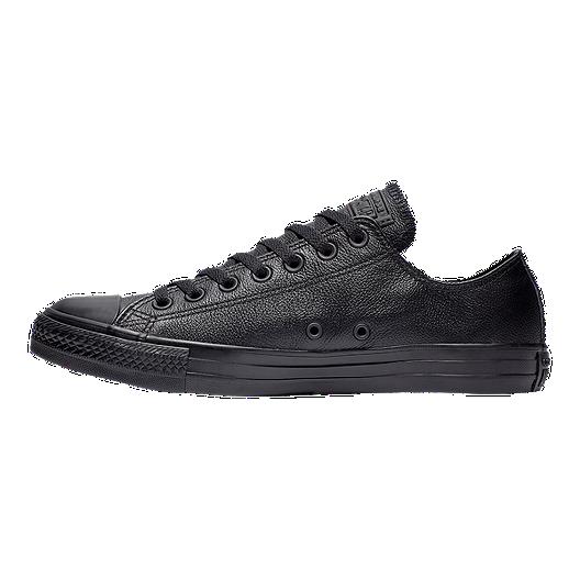 Black leather shoes, Black shoes