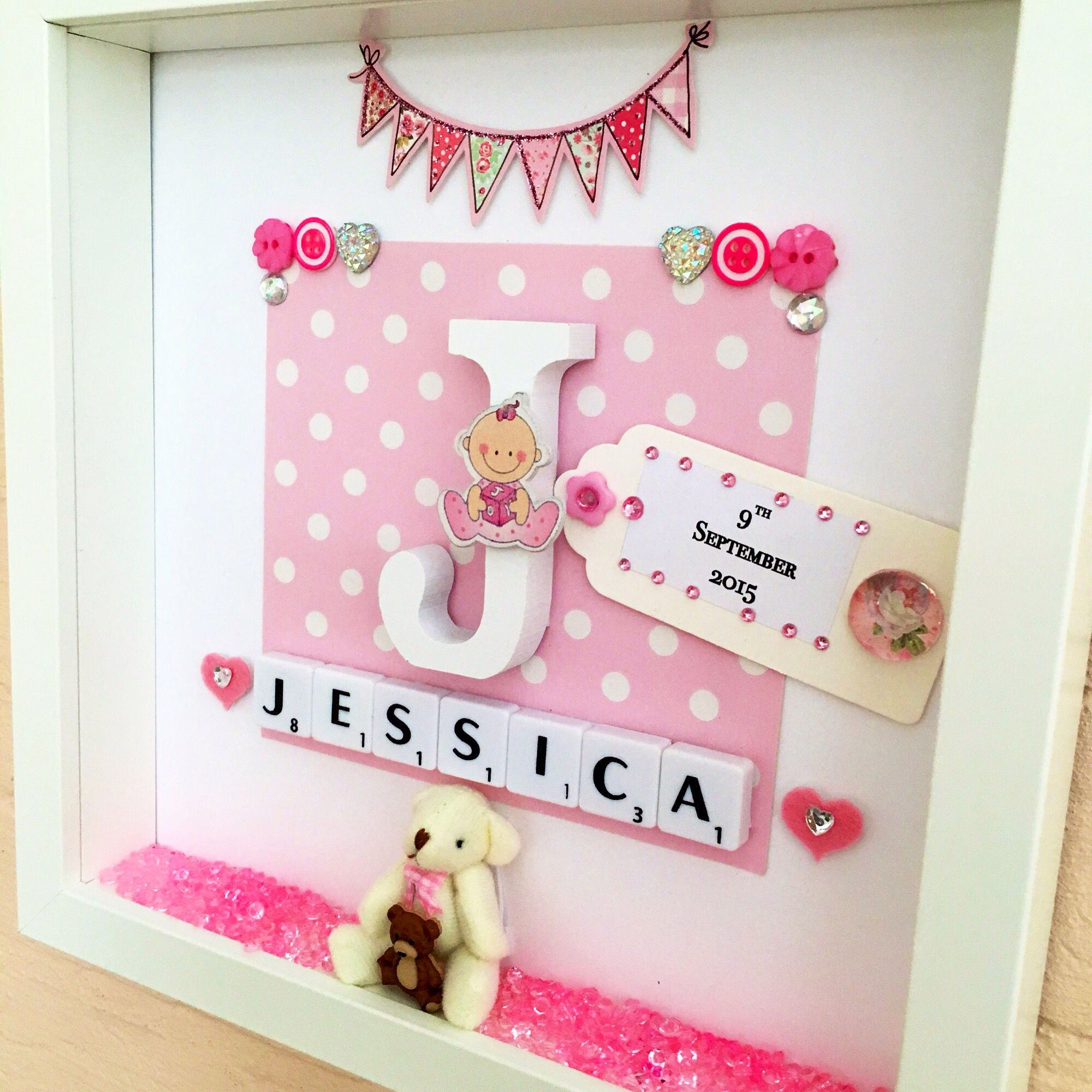 Newborn gift personalised christening gift baptism gift baby new baby gift baby girl gift baby name gift https negle Image collections