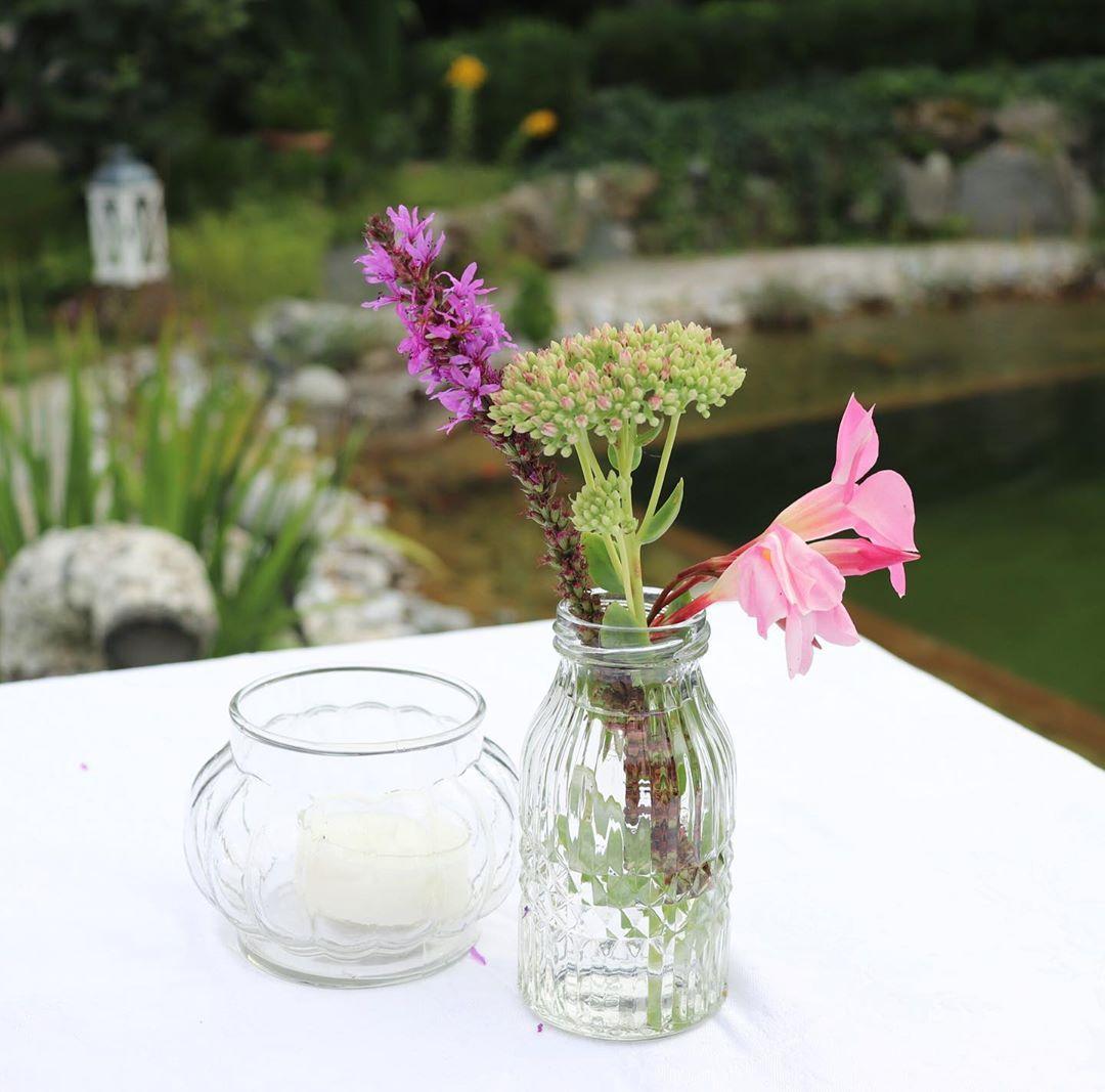 Partytime Am Wochenende Hatten Wir Eine Gartenparty Mit Familie Und Liebe Freunden Fur Die Tischdeko Bin Ich Mit Meiner Mu Garten Gartenliebe Garten Ideen