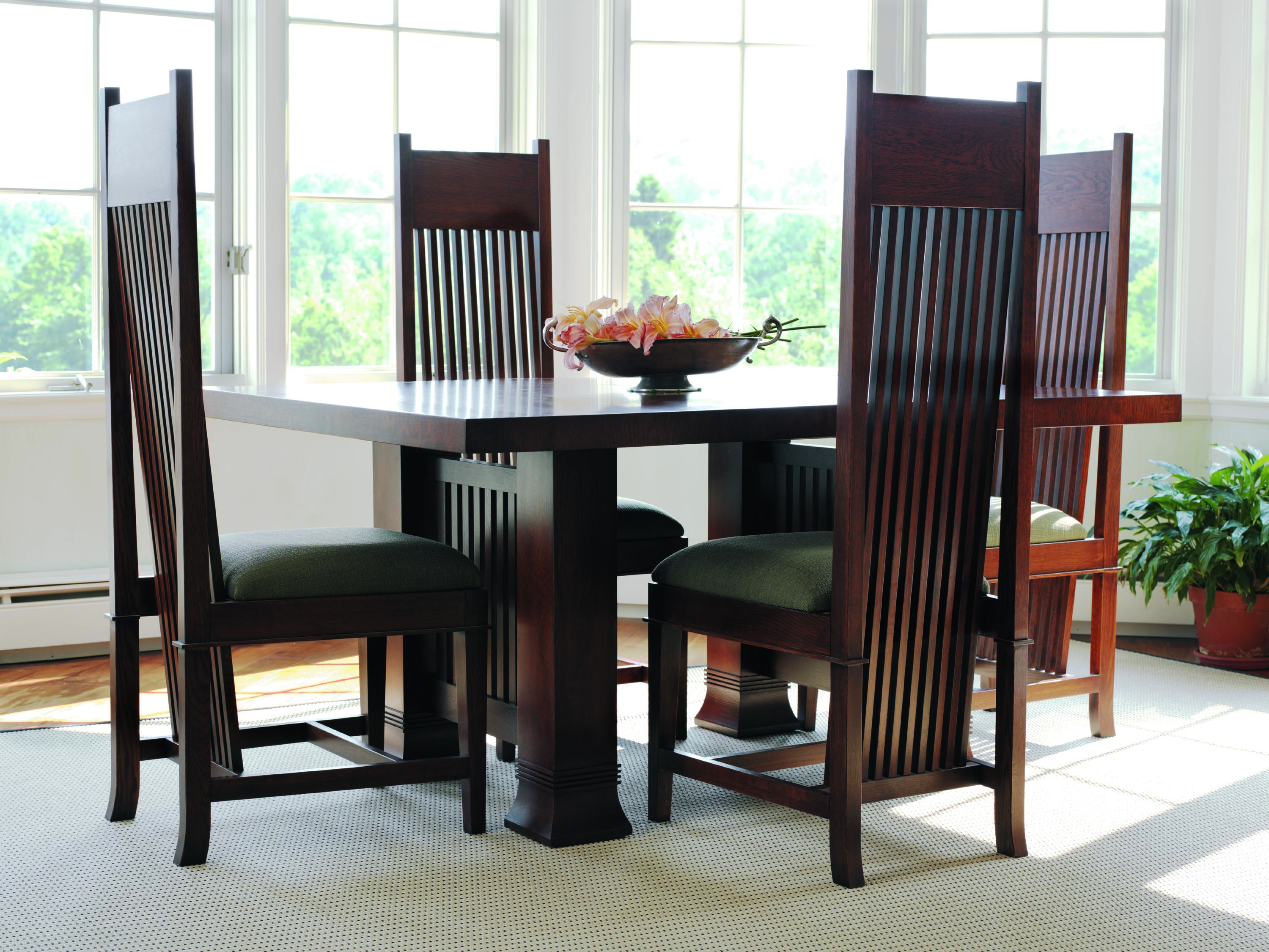 Frank Lloyd Wright Furniture | Frank Lloyd Wright® Furniture By Copeland  Dana Thomas Dining
