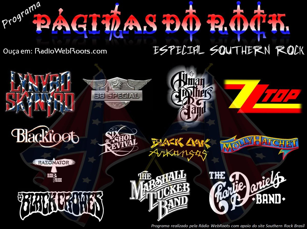 southern rock bands | Páginas do Rock - Especial Southern Rock lá na Rádio WebRoots