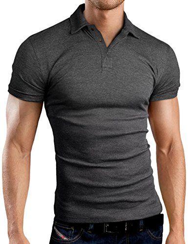 Grin&Bear Slim Fit Polohemd Poloshirt Polo T Shirt
