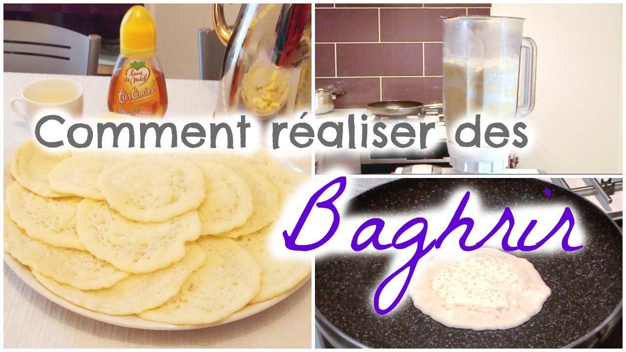 Recette crêpes aux mille trous - Baghrir