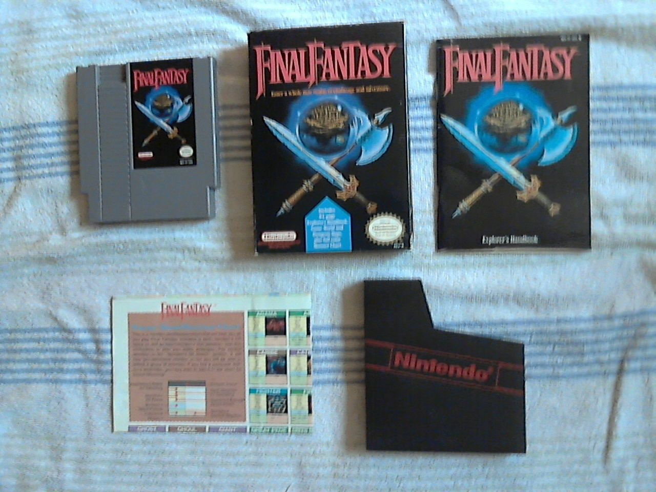 Final Fantasy NES CIB Final fantasy nes, Arcade games, Games
