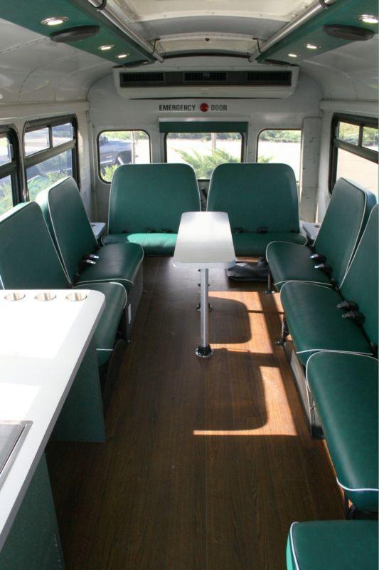 Short On School Bus, Long On Tailgating Fun