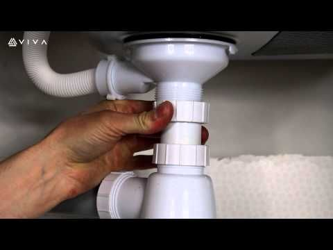How To Install Or Replace A Universal Telescopic Bottle Trap For A Bathroom Basin Or Kitchen Sink Youtube Bathroom Sink Drain Sink Drain Kitchen Design Decor