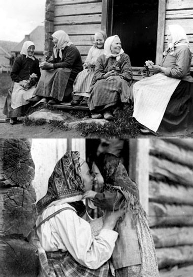 Karelian ladies   Finland, History of photography