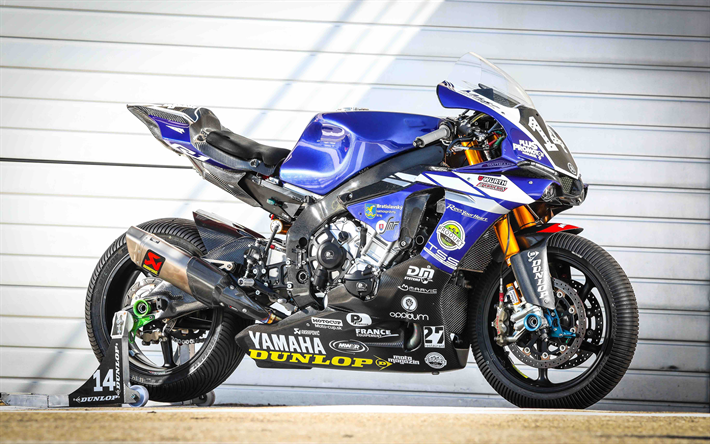 Download Wallpapers Yamaha YZF-R1M, 4k, Sportsbikes, 2018