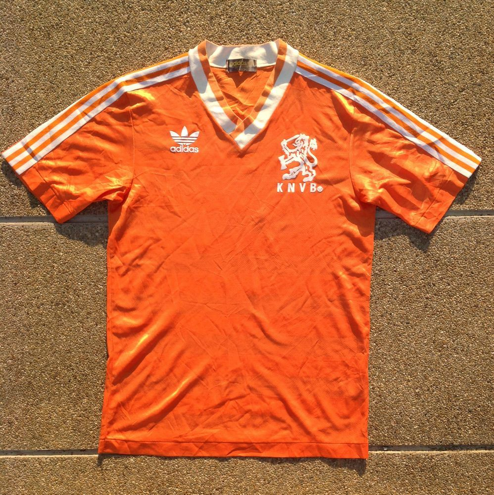 2b1959d87e9 vintage adidas holland 1985-1988 #Football shirt home netherlands dutch  jersey from $70.51
