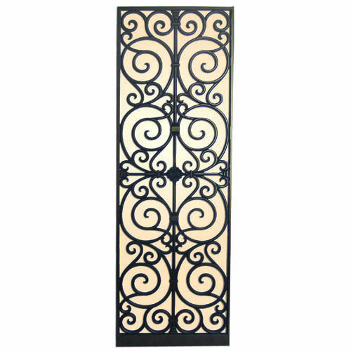 Used Iron Door Grill Designs Interior Wrought Iron Door: Faux Wrought Iron - Room Dividers & Pass-through