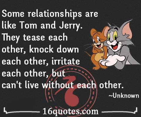 Tom And Jerry Fighting Quotes Google Search Tom And