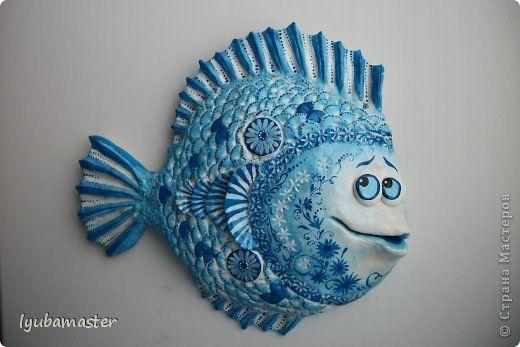 """рыбка """"Ажурная"""" МК"""
