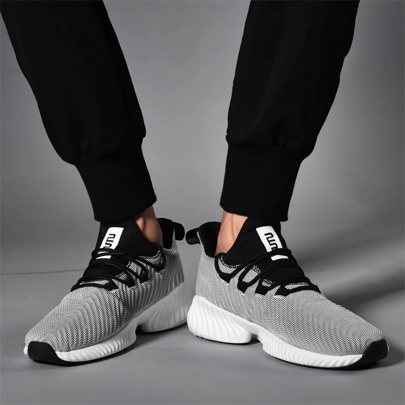 Mens Running Trainers Fitness Casual Shoes Gym Sports Comfort Lace Up Plus Size