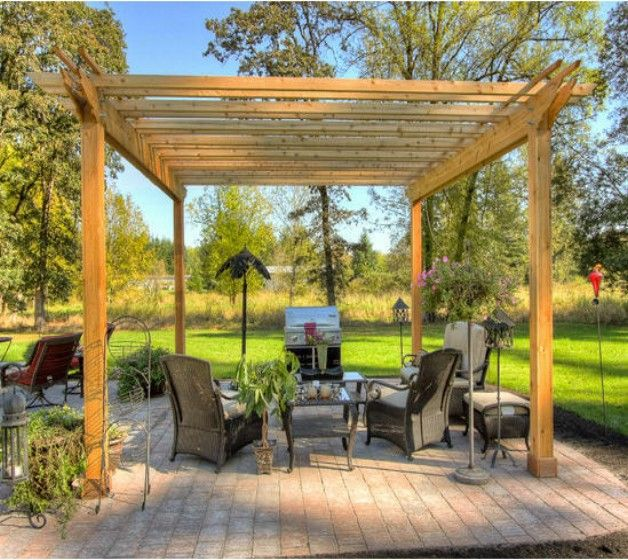Awesome Design Ideas For For Patio Pergola   Privacy Shades, Wooden Pergola  And Pergola Plans