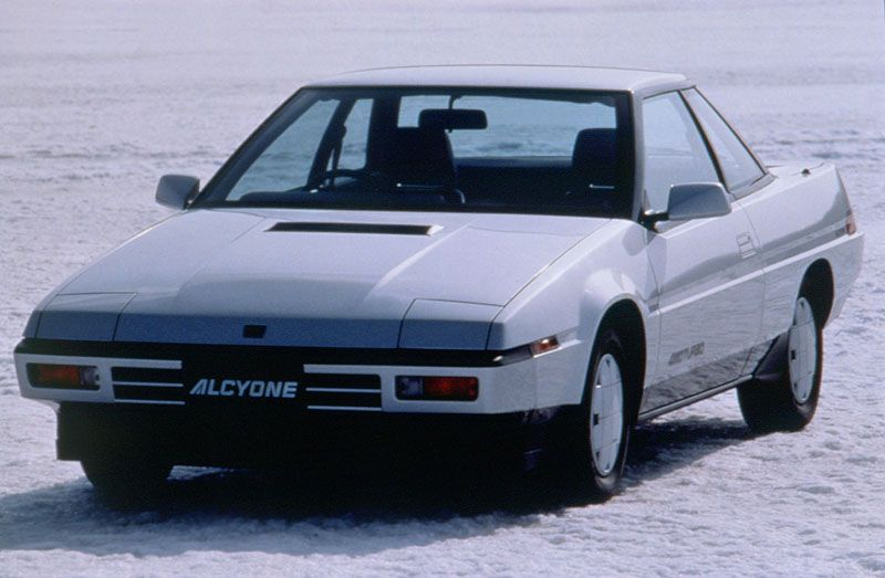 1986 - #Subaru #Alcyone #(XT) tanıtıldı. #Subaru Dizayn Merkezi tamamlandı. Leone #3-kapı #Coupe tanıtıldı. Robin markalı motorların toplam üretimi on milyon adedi geçti.