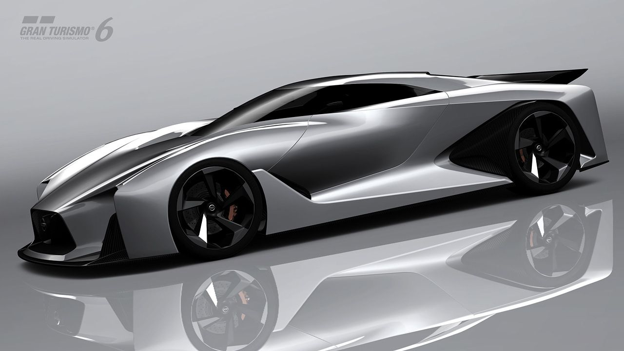 Nissan Concept 2020 Vision Gran Turismo Maybe An Inspiration For The Next Gtr Futuristic Cars Concept Car Design Concept Cars