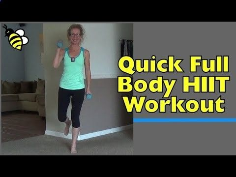 hiit it quick  full body strength and cardio workout at