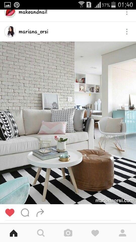 Pin de Beatriz Andrade en Arquitetura Pinterest - decoracion de apartamentos pequeos