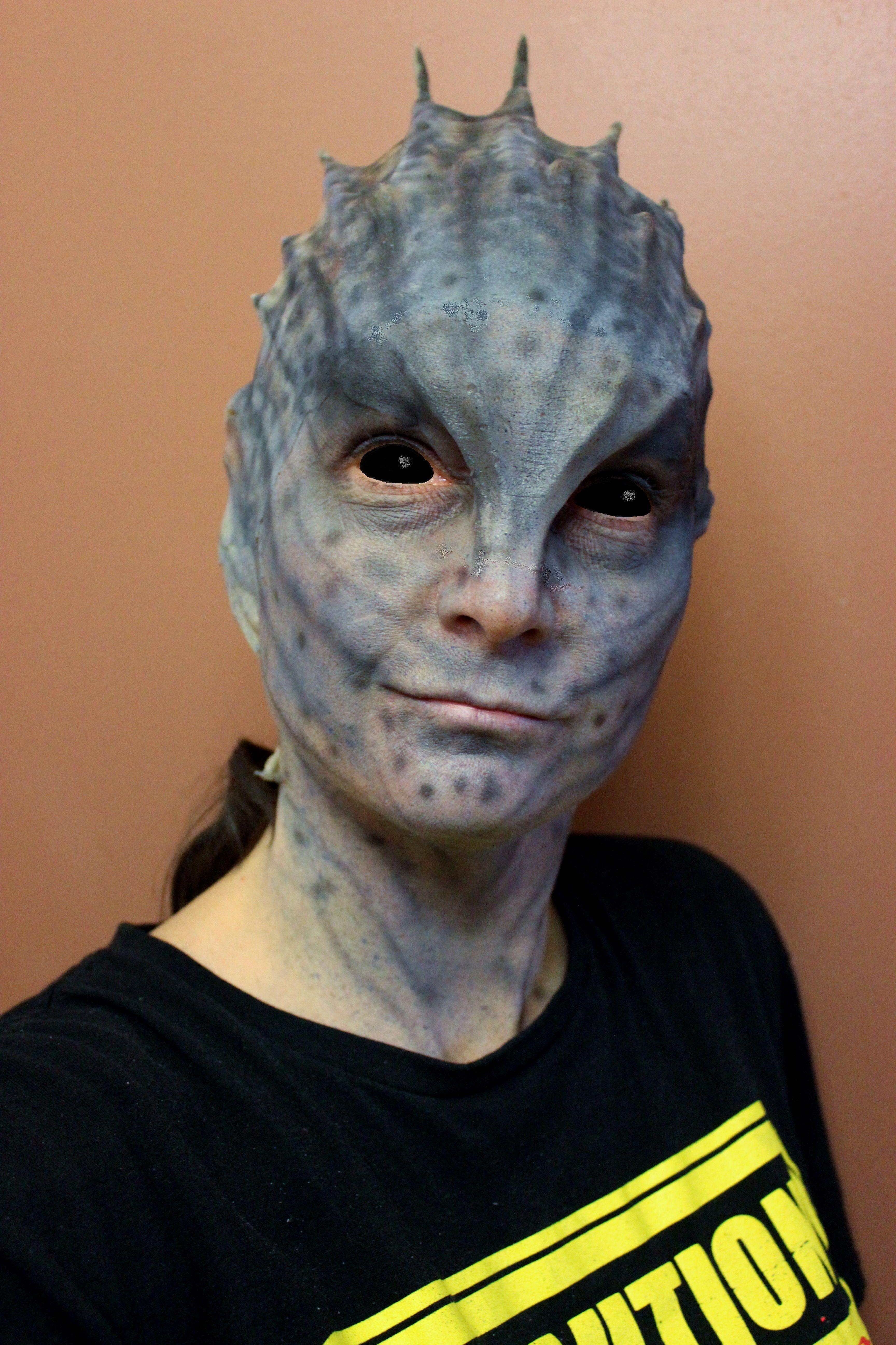 My Halloween alien prosthetic makeup(Reel Twisted FX) | SPFX ...