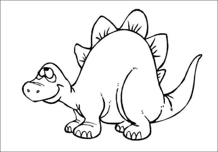 Dinosaurs Coloring Pages For Kids in 2020 | Cartoon ...