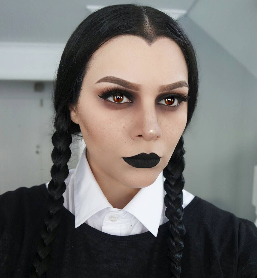 Wednesday Adams | Halloween Makeup Look Source ...