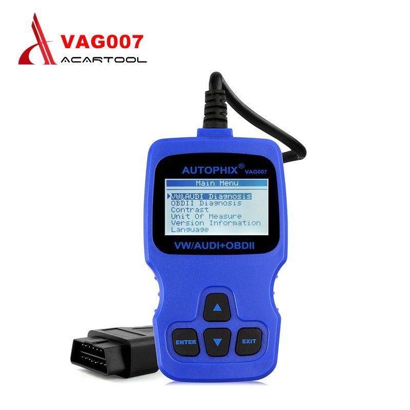 Original Autophix VAG007 VAG 007 Oil Reset/TP Position Check
