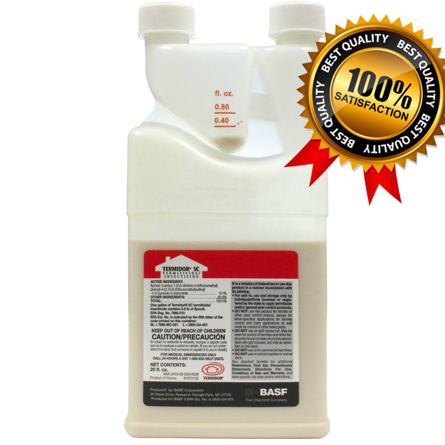 Termidor Sc Termite Ant Pest Insects Control Insecticide Termiticide Fipronil Termite Control Termite Treatment Pest Control Supplies