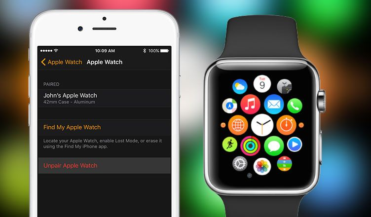 How to unpair apple watch and iphone apple watch apple