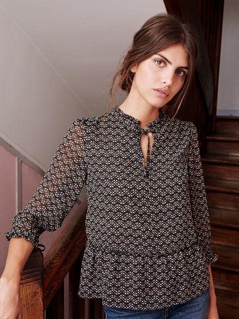 s s zane la premi re marque de pr t porter fran aise 100 en ligne blusas moda. Black Bedroom Furniture Sets. Home Design Ideas