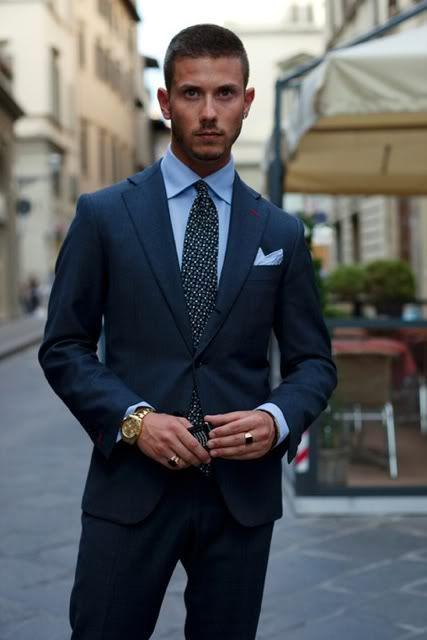 38f8699c7cd Navy suits are always best for interviews. | Gentlemen: What Should ...