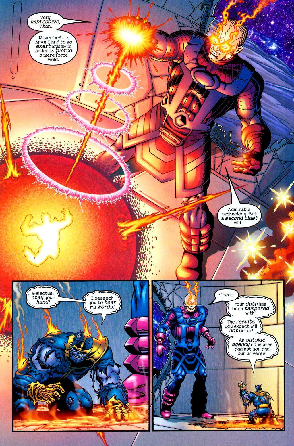 Galactus Vs Thanos - Page 2 - Marvel Heroes 2015   Marvel ...