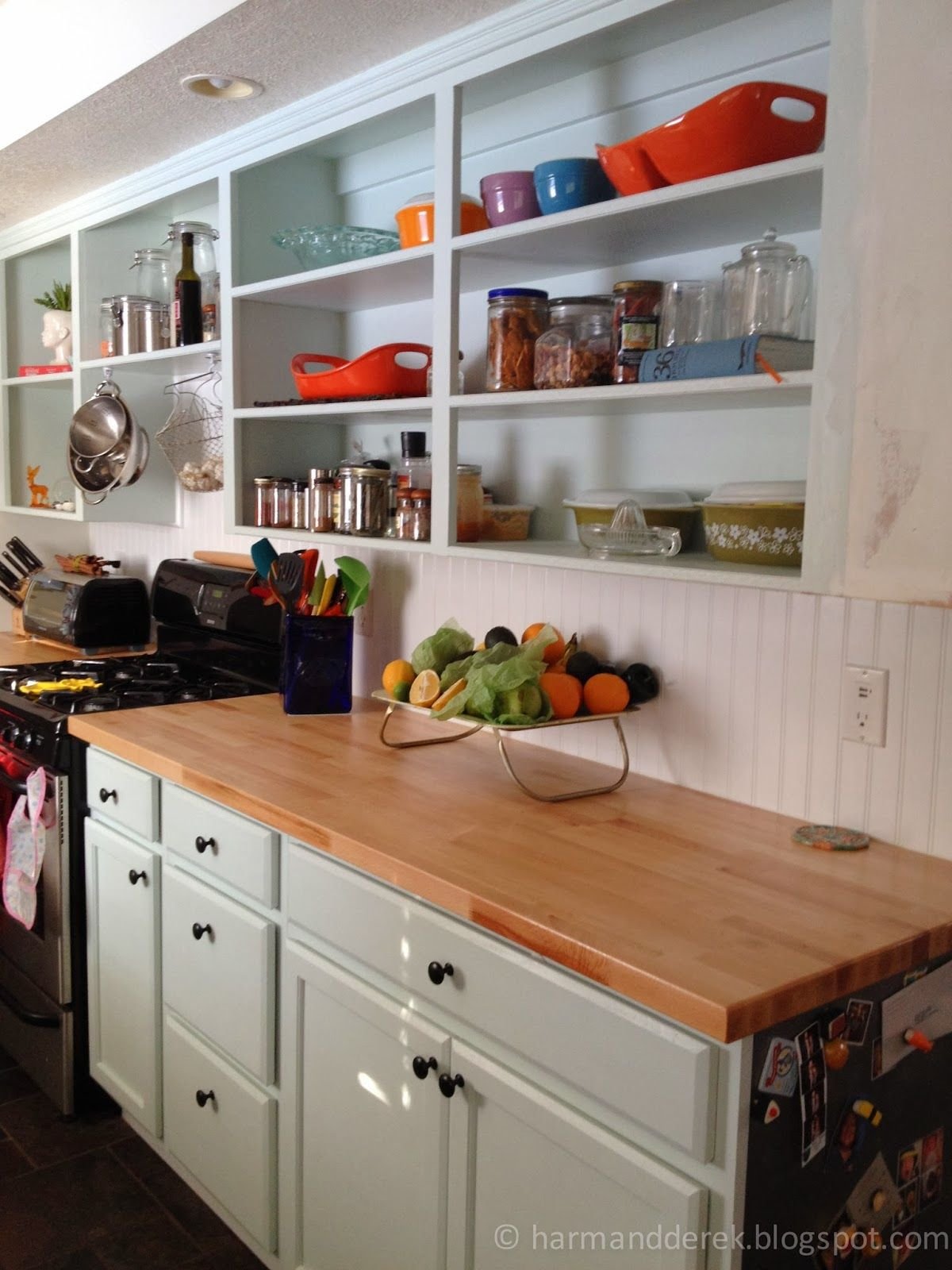 1960s Kitchen Remodel Before After: Husband And Harmony: Remodeling The Kitchen. Before, In