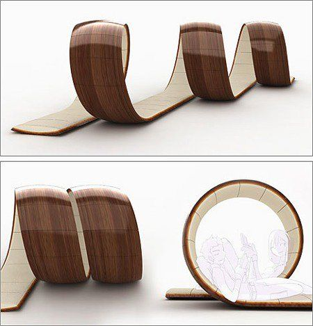 Loopita Victor Aleman , Flexible Changeable Bed + Relaxing + Reading ...
