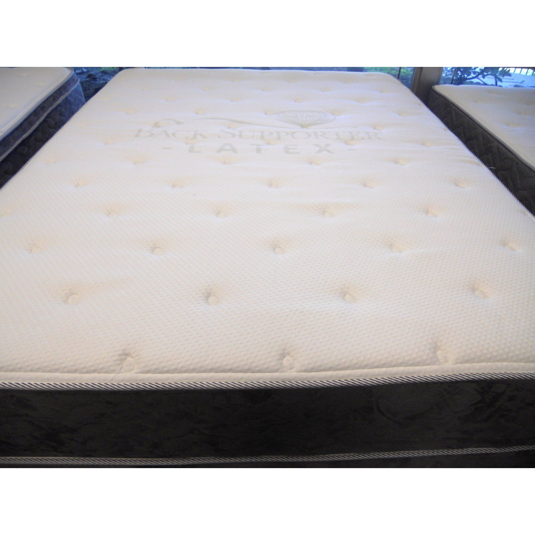 Spring Air Back Supporter Pillow Top Mattress and Box A
