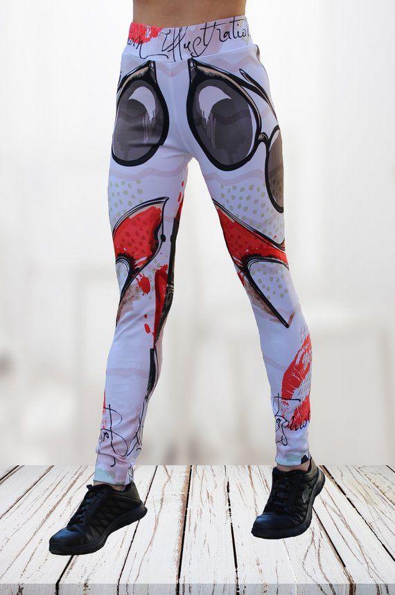 0f49d9534a70a Sublimation printing leggings/ Ladies gym wear /3D Leggings/ Gym Pants/  Women Trousers/ Sports Tights/ Sublimation Printing Yoga Pants  #WomenTrousers ...
