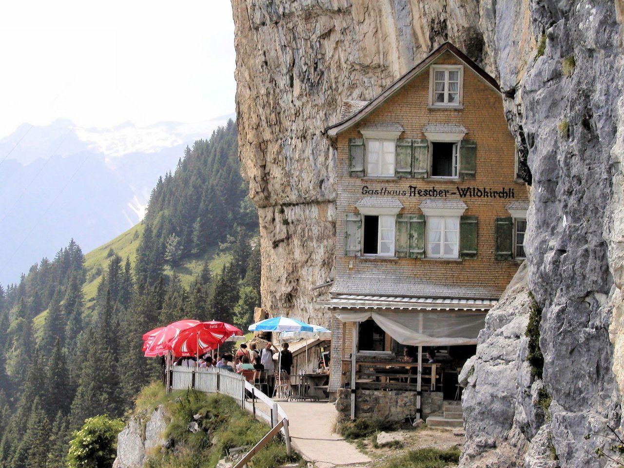 Berggasthaus Aescher Swiss Alps Switzerland Places To